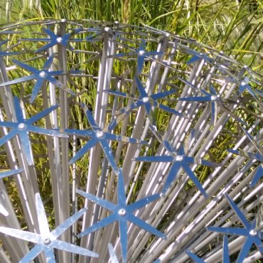 Allium sculpture at Tremenheere Sculpture Garden